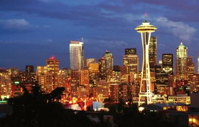 西雅图风光。