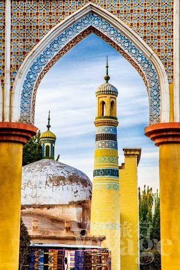 天赐的喀什 共享共生的无拘生活