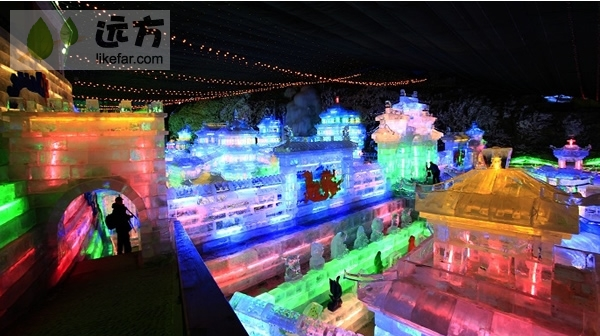 2013北京延庆龙庆峡冰灯节自助游攻略
