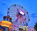 """嗨一夏丨这里有一柄""""福利魔法棒""""带你漫游Hello Kitty乐园"""